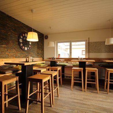 Clubhaus Einrichtung - Sitzbereich