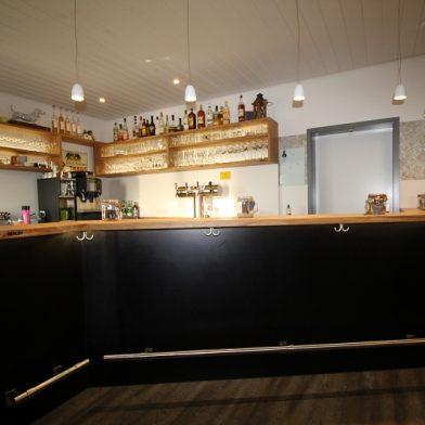 Clubhaus Einrichtung - Ansicht Theke