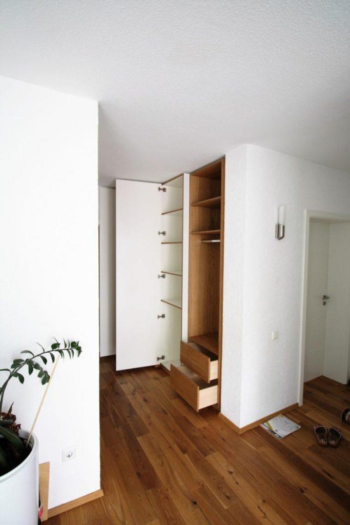 Einbau garderobe schreinerei malin for Garderobe x3