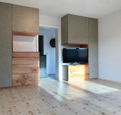 Einrichtungskonzept Wohn-/ Esszimmer